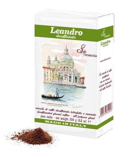 Leandro молотый (без кофеина)